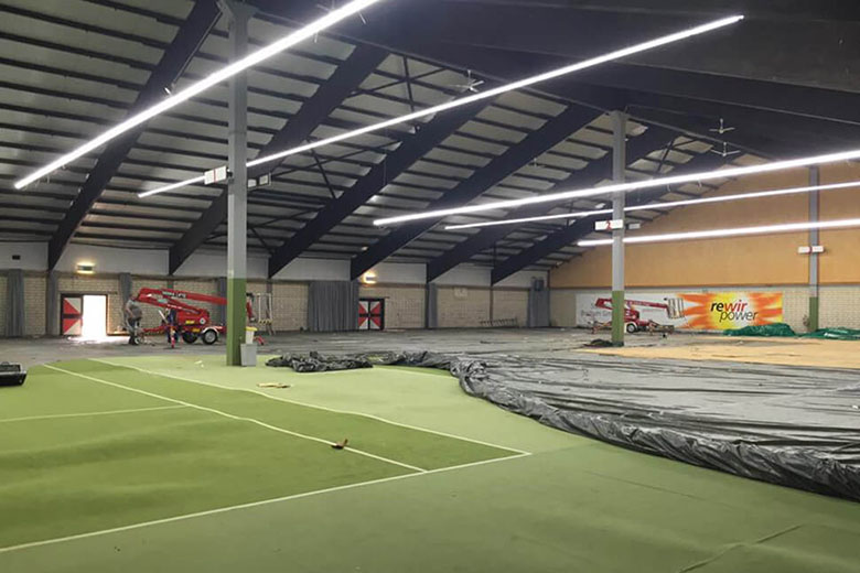 T201 Tennis court, Germany